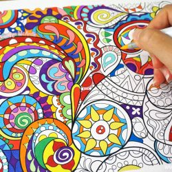 best meditation coloring book